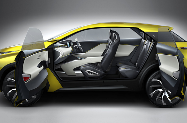 Mitsubishi eX Concept Seating