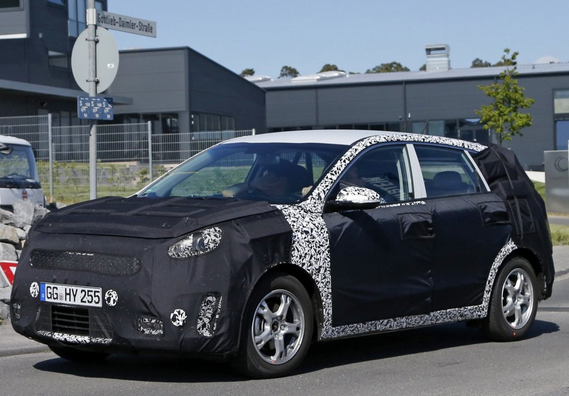 New Kia Crossover Hybrid