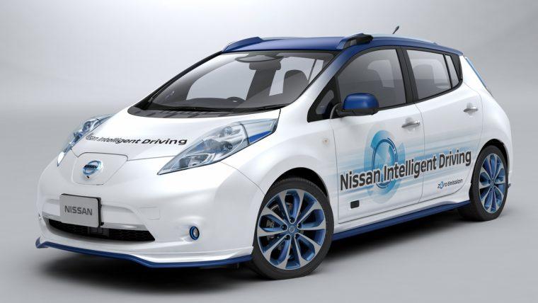 Nissan Intelligent Drive LEAF prototype