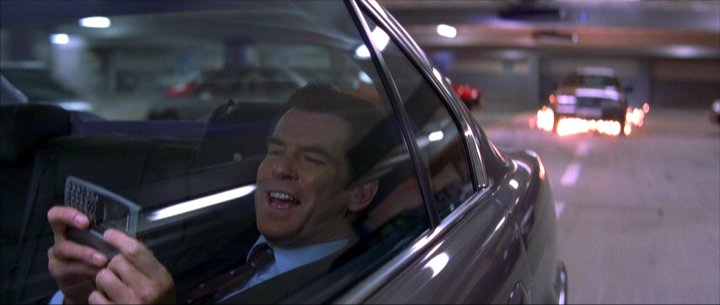 Pierce Brosnan James Bond Driving car