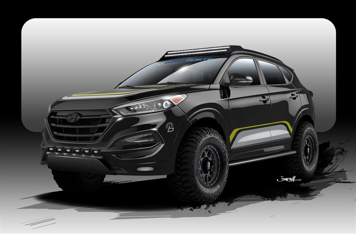 Hyundai Tucson Changed From Family Suv To Off Road Rock Star