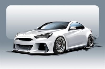 SEMA ARK Performance Genesis Coupe
