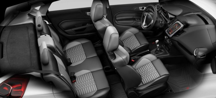 Fiesta ST Interior with Flux Capacitor