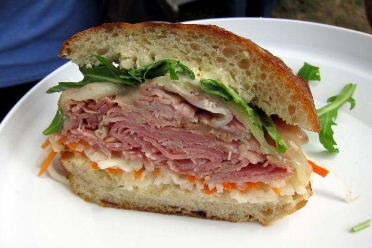 cold-cut sandwich