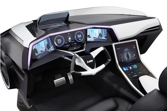 Toyota Emirai 3 xDas Interior