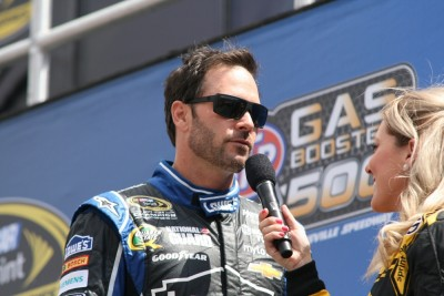 Jimmie Johnson is the owner of ten career victories at Dover, which makes it even more unbelievable that's where he got eliminated from the 2015 NASCAR playoffs