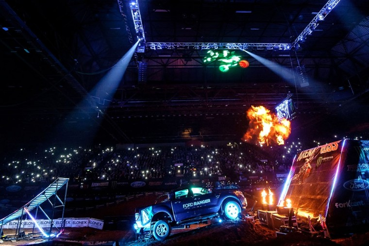 Ford Ranger returns to the ARENACROSS tour next year