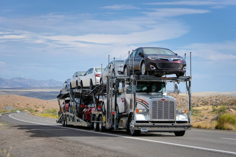 Toyota Transport Award SmartWay highway transportation carriers