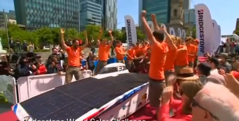 World Solar Challenge Delft University Car