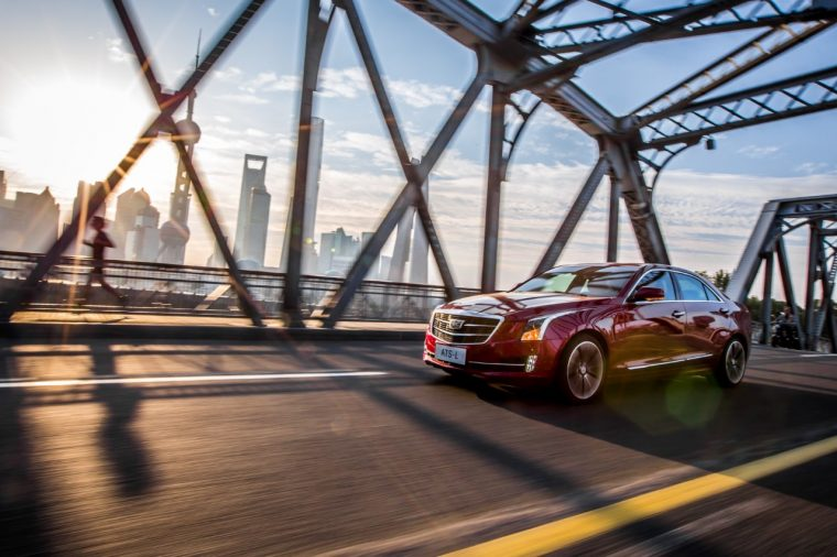 The new Cadillac ATS-L bows in China in October