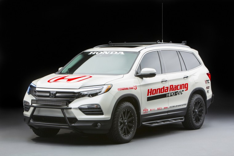 2016 Honda Pilot Baja Chase Vehicle