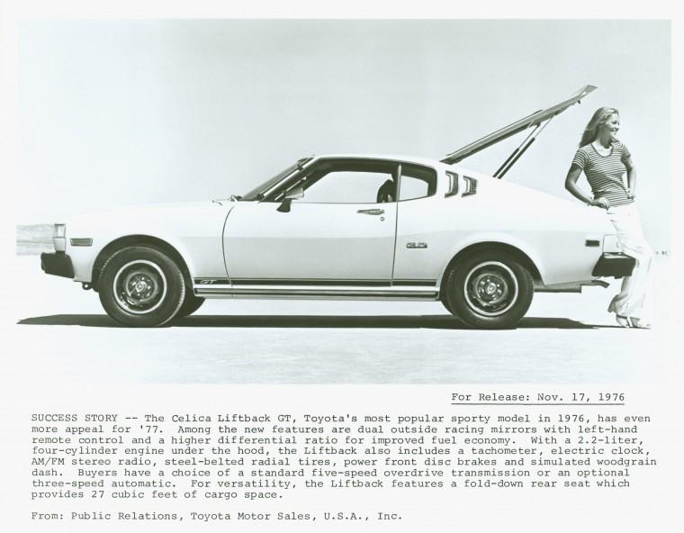 The 1977 Toyota Celica Liftback