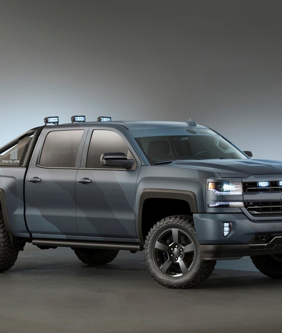Popular  With The Chevy Silverado Special Ops Concept At SEMA  The News Wheel