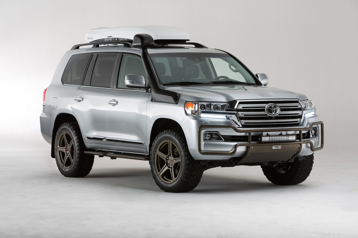 2015 Sema Toyota Land Cruiser Trd 6 The News Wheel