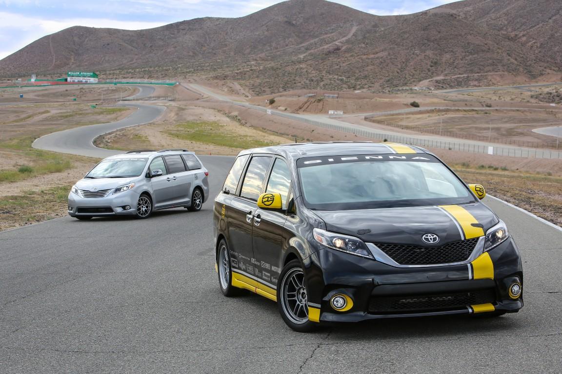 2015 Sema Toyota Sienna R Tuned Concept 1 The News Wheel