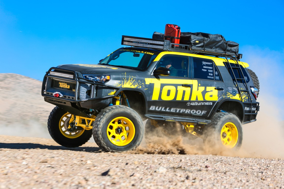 Toyota Builds Life Size Tonka 4runner For Sema Show The