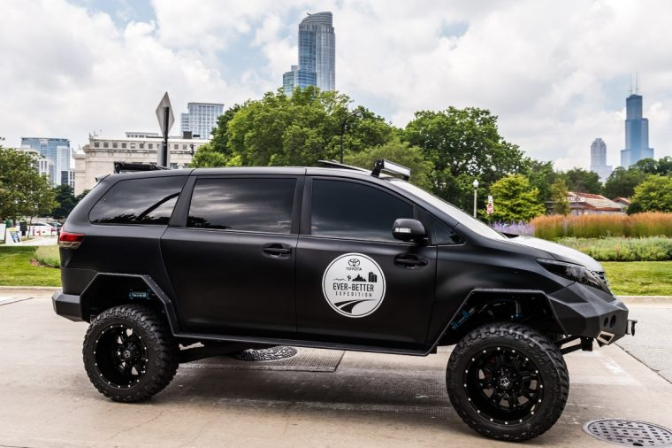 2015 SEMA Toyota Ultimate Utility Vehicle