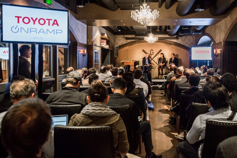 2015 toyota onramp panel discussion