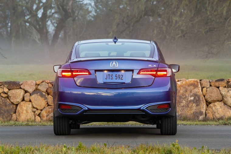 The 2016 Acura ILX features an acoustic glass windshield