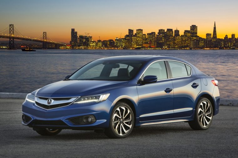 The 2016 Acura ILX comes standard with 17-inch aluminum alloy noise-reducing wheels