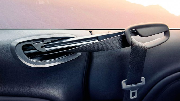 3-point safety belts are featured inside the 2016 Buick Cascada