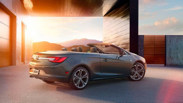 The 2016 Buick Cascada comes standard with a six-speed automatic transmission
