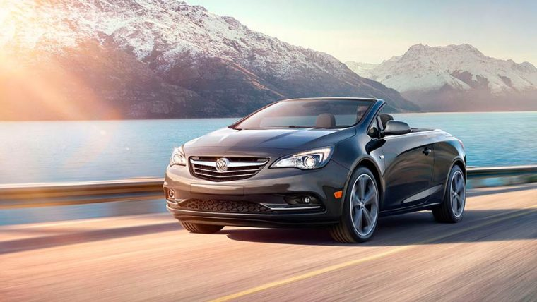 The 2016 Buick Cascada comes with a 1.6-liter turbo four-cylinder engine and six-speed automatic transmission