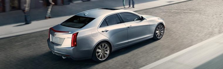 17-inch wheels are standard for the 2016 Cadillac ATS sedan