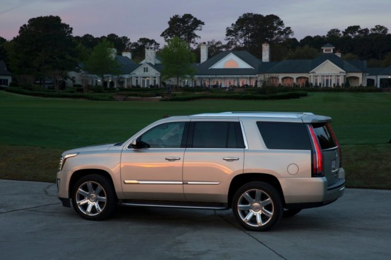 The 2016 Cadillac Escalade come standard with OnStar with 4G LTE and built-in WiFi hotspot