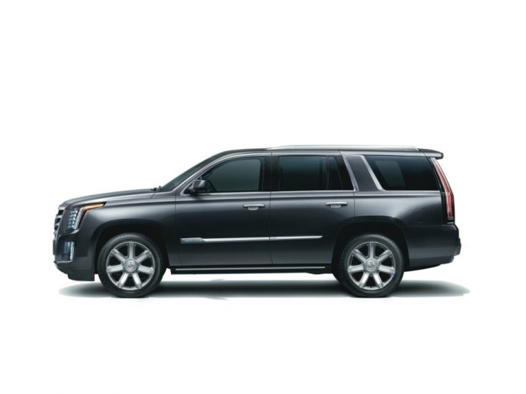 The 2016 Cadillac Escalade is good for 420 horsepower and 460 lb-ft of torque