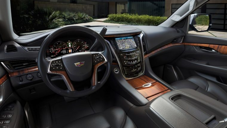 Standard, Luxury, Premium, and Platinum are the four trim levels for the 2016 Cadillac Escalade
