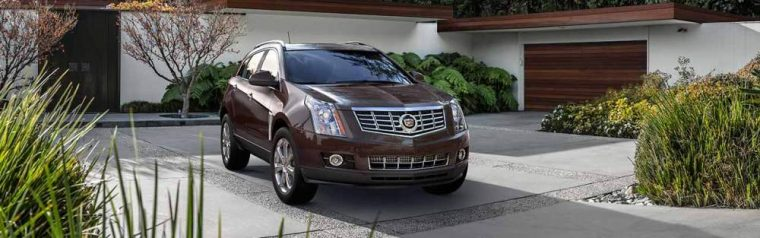 The 2016 Cadillac SRX has a starting MSRP of $37,605