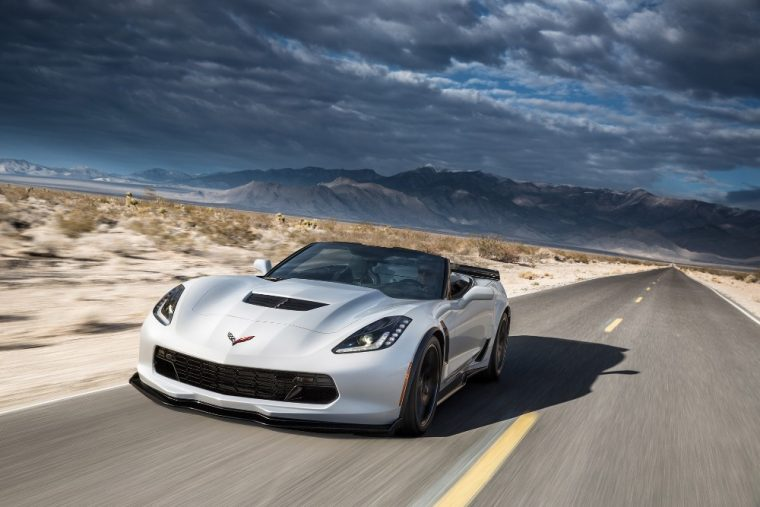 The 2016 Chevrolet Corvette Z06 comes in a number of exterior color options
