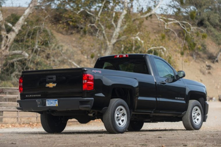 The 2016 Chevy Silverado is available in seven trim levels