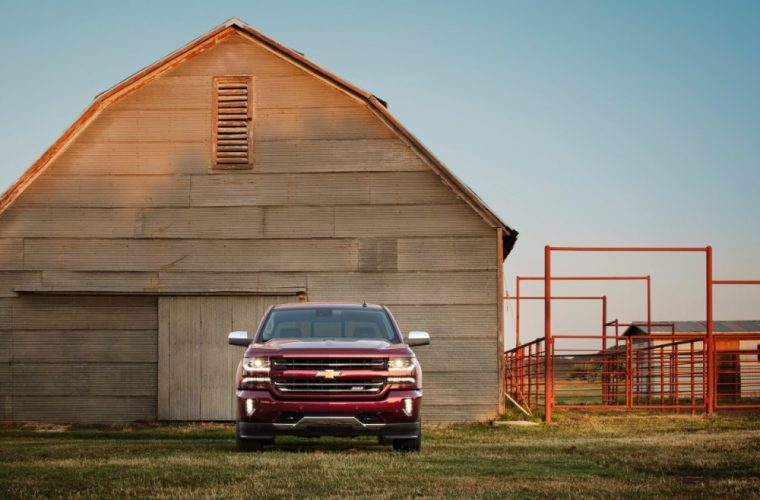 The 2016 Chevy Silverado is available in either 2WD or $WD