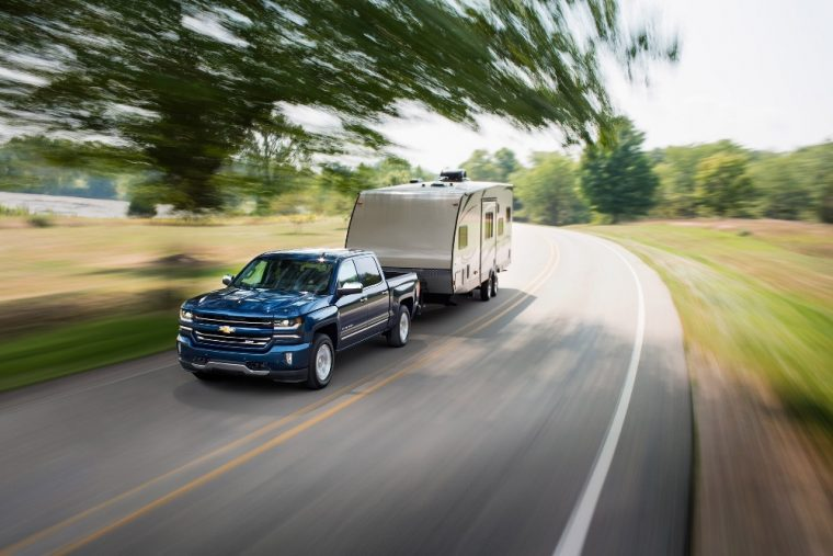 The 2016 Chevy Silverado 1500 is available with a 6.2L EcoTec3 V8 engine