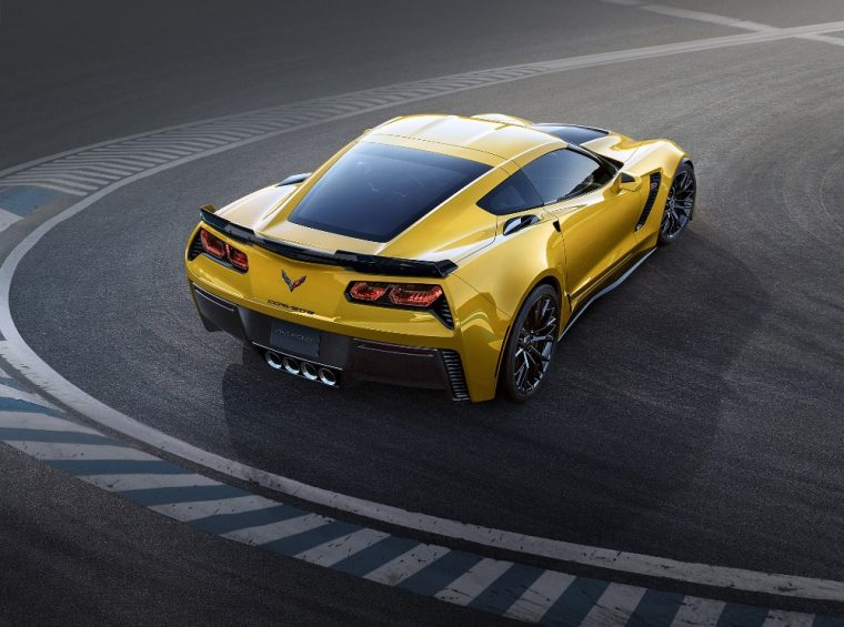 The 2016 Chevy Corvette Z06 is good for 650 hp