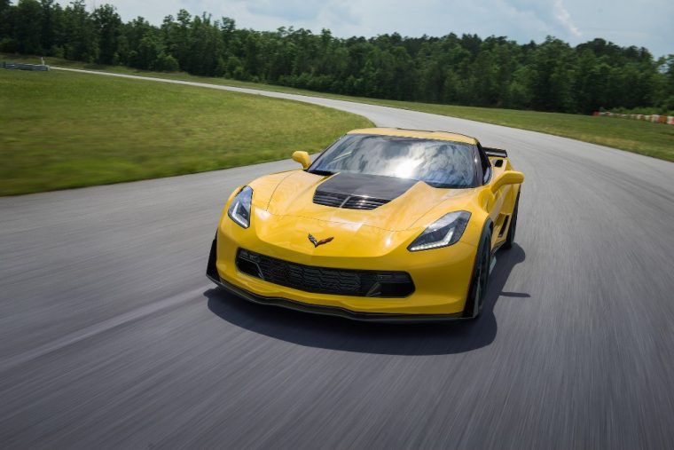The 2016 Corvette Z06 comes standard with traction control