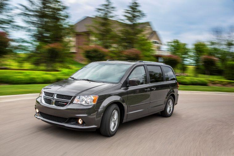 2016 Dodge Grand Caravan Driving