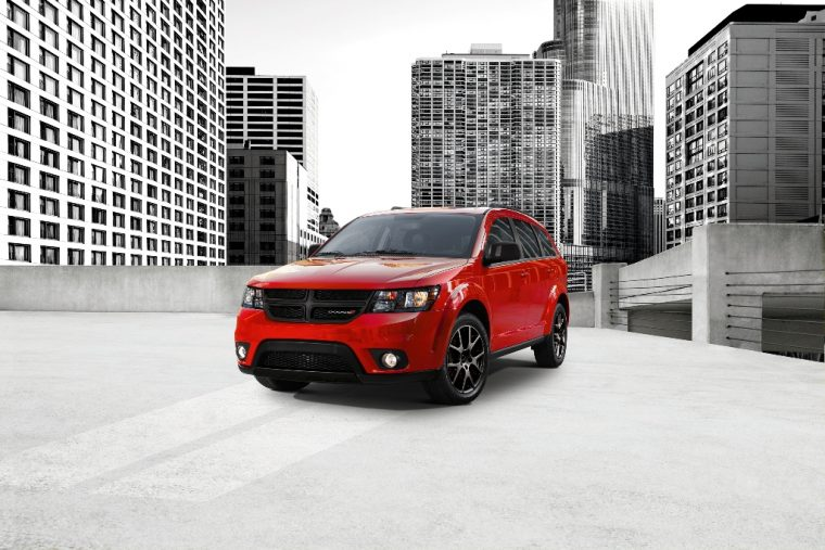 2016 Dodge Journey Front End