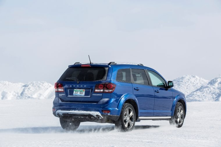 2016 Dodge Journey Snow Rear View