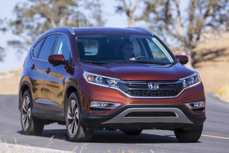 The 2016 Honda CR-V comes equipped with two-speed windshield wipers