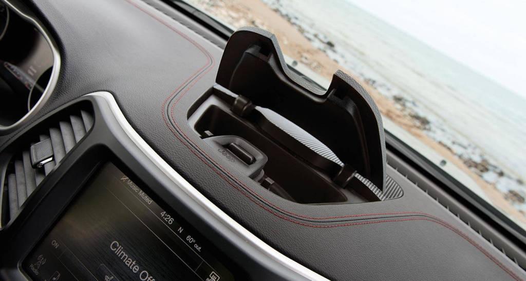 2016 Jeep Cherokee Dashboard Storage   The News Wheel