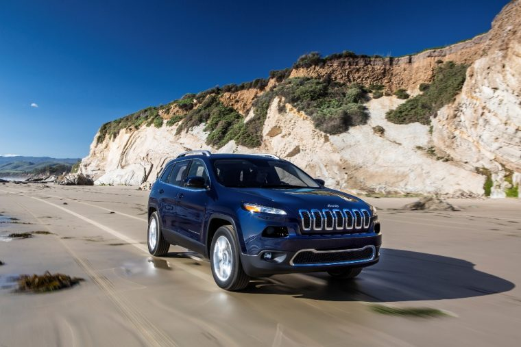 2016 Jeep Cherokee Side View