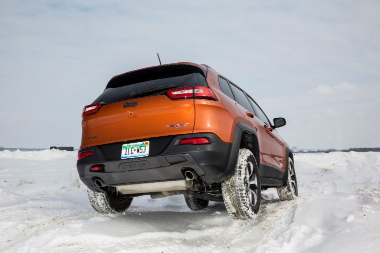 2016 Jeep Cherokee Winter Capabilities