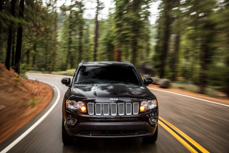 2016 Jeep Compass Headlights