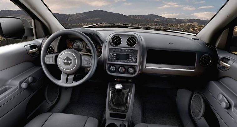 2016 Jeep Patriot Dashboard