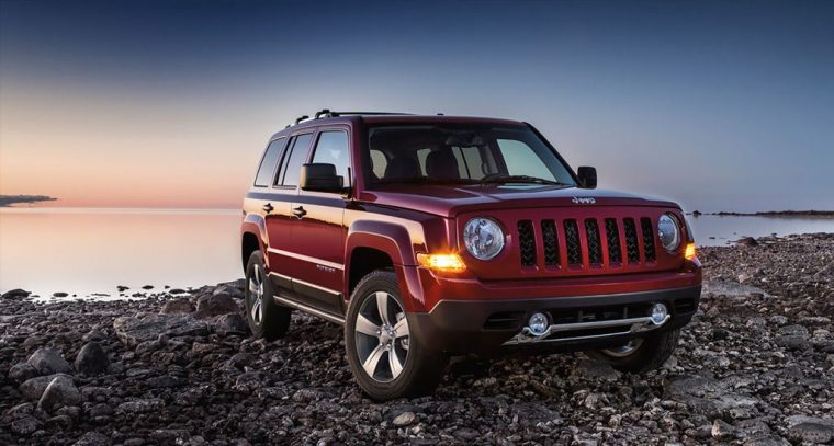 2016 Jeep Patriot Front End