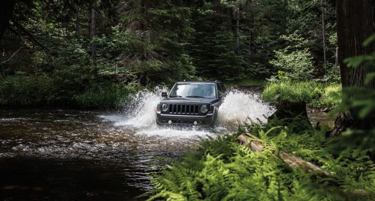 2016 Jeep Patriot Off-Road Performance