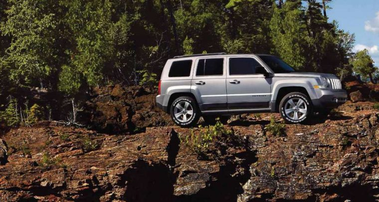2016 Jeep Patriot Silhouette
